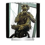 Flower Dome 43 Shower Curtain