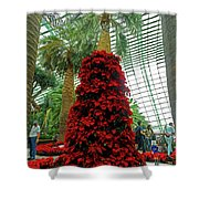 Flower Dome 45 Shower Curtain