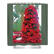 Flower Dome 46 Shower Curtain