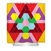 Flower Face Shower Curtain