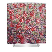 Flower Feelings. Shower Curtain
