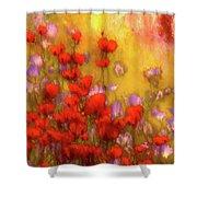 Flower Fields Of Summer Shower Curtain