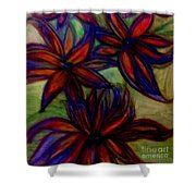 Flower Flower Shower Curtain