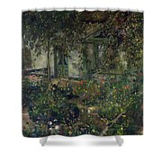 Flower Garden In Bloom Shower Curtain
