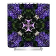 Flower Kaleidoscope_004 Shower Curtain