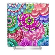 Flower Magic Shower Curtain
