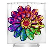 Flower Mandala 6 Shower Curtain