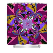 Flower Mont Shower Curtain