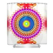 Flower Of Bliss Shower Curtain