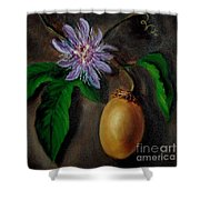 Flower Of Christ Shower Curtain