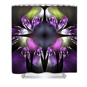 Flower Of Hope Shower Curtain