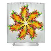 Flower Of Joy Shower Curtain