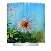 Flower Of Love  Shower Curtain