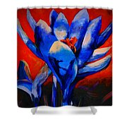 Flower Of My Heart Shower Curtain