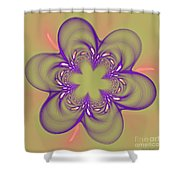 Flower Of Pink - Purple Shower Curtain
