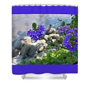 Flower Overboard Shower Curtain