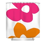 Flower Power 4- Art By Linda Woods Shower Curtain