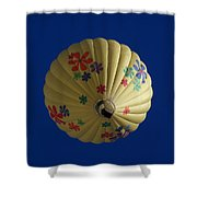 Flower Power Balloon Shower Curtain