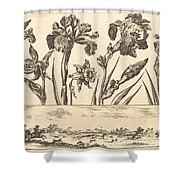 Flower Print No.3 Shower Curtain