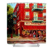 Flower Shop On The Corner Shower Curtain