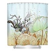 Flower Sol Shower Curtain