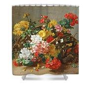 Flower Study Shower Curtain