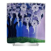 Flower Tree  Shower Curtain