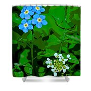 Flower Vision Shower Curtain