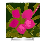 Flower Work Number 17 Shower Curtain