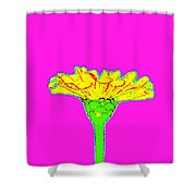 Flower10 Shower Curtain