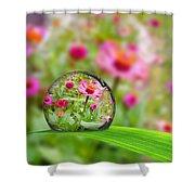 Flowerdrop Shower Curtain