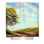 Flowered Fields Shower Curtain