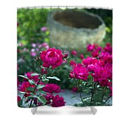 Flowering Landscape Shower Curtain