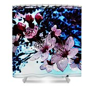 Flowering Of The Plum Tree 7 Shower Curtain