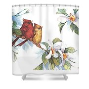 Flowering Season II Shower Curtain