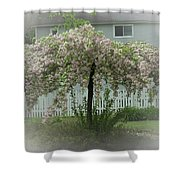 Flowering Tree By Earl's Photography Shower Curtain