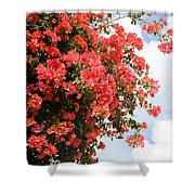 Flowering Tree Shower Curtain