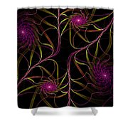 Flowering Vine Shower Curtain