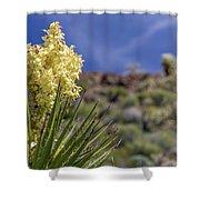 Flowering Yucca Shower Curtain