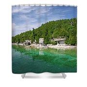 Flowerpot Island - Georgian Bay, Ontario Shower Curtain