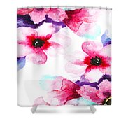 Flowers 04 Shower Curtain