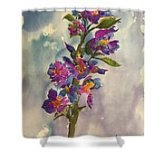 She Blooms Shower Curtain