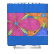 Flowers-15 Shower Curtain