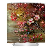 Flowers 2 Shower Curtain