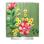 Flowers - 2 Shower Curtain