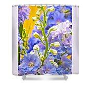 Flowers 39 Shower Curtain