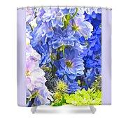 Flowers 41 Shower Curtain