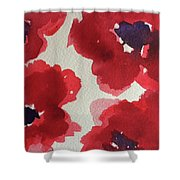 Poppy Happiness Shower Curtain