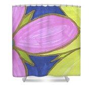 Flowers-9 Shower Curtain