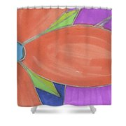Flowers-8 Shower Curtain